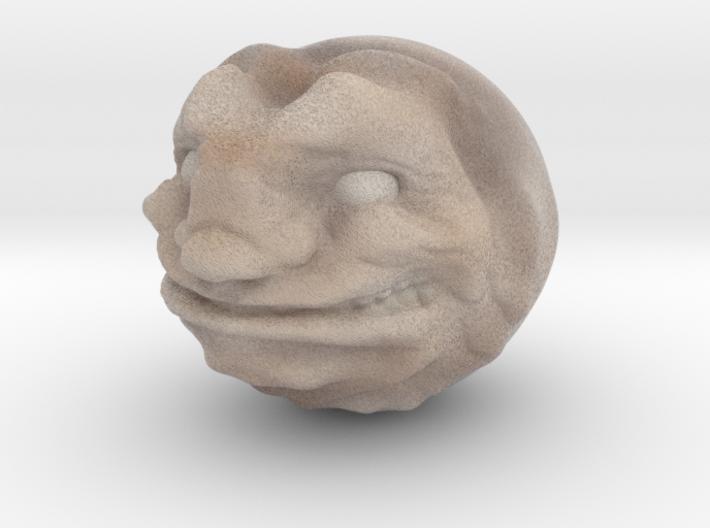Demon ball collectible 3d printed