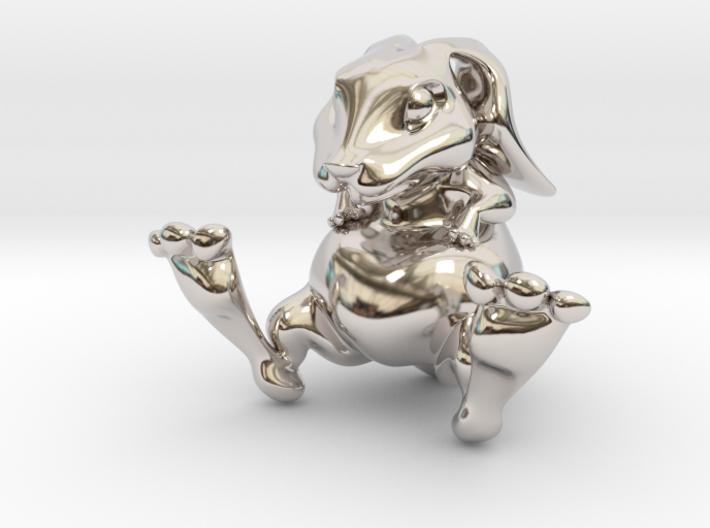 Lucky Bunny Keychain 3d printed