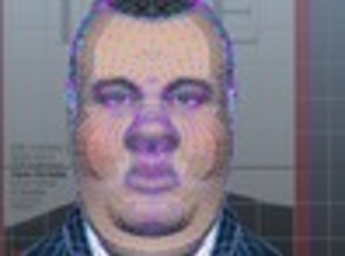 Chris Christie the Gestation Pig inaction figure S 3d printed