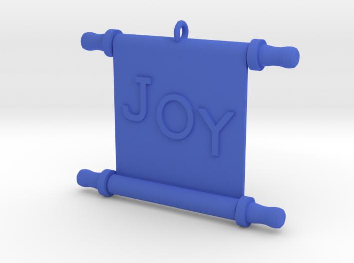 Ornament, Scroll, Joy 3d printed