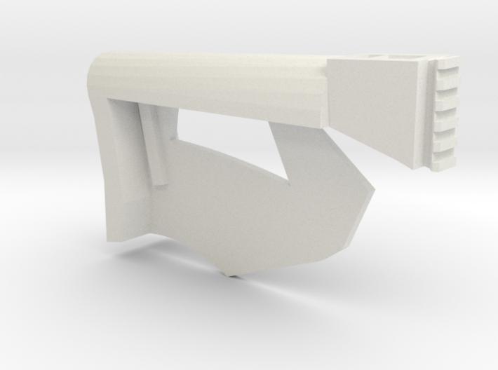 Combat Blade Shoulder Stock (Solid) 3d printed