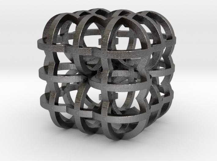 Fractal Cube RB4 30mm 3d printed