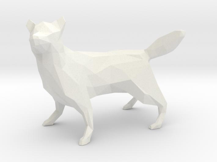 Low Poly Husky [8.5cm Tall] 3d printed