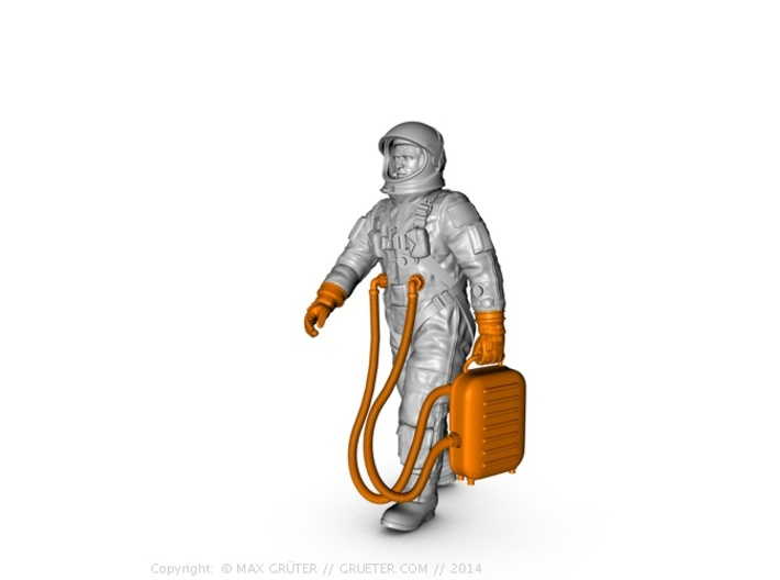 Gemini Astronaut Parts / 1:6 / Walking Version 3d printed