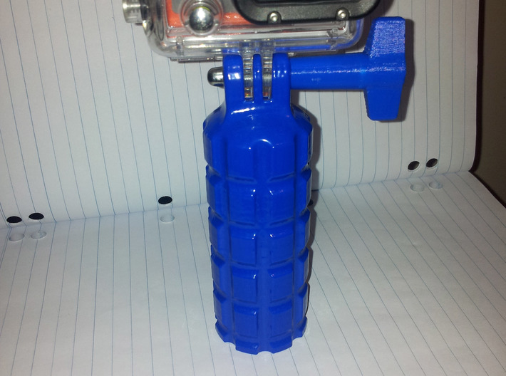 GoPro Style Hand Grip 3d printed Printed on an UP 3D printer