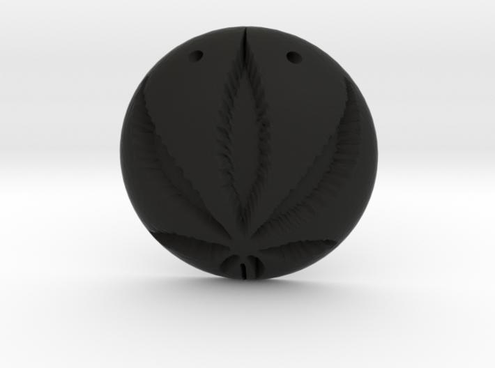 Cannabis Pendant 3d printed