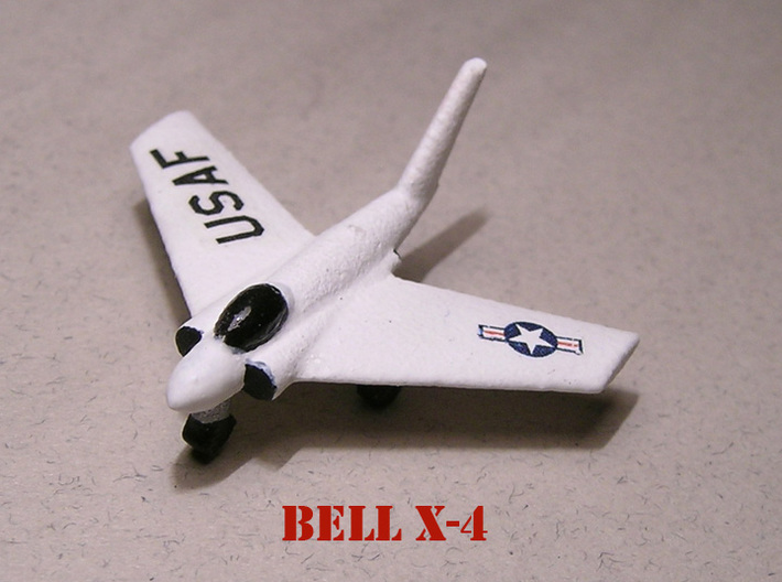 1/285 Experimental Aircraft Set 1 3d printed Model paint and decal work by Fred Oliver. Image provided by Fred Oliver.