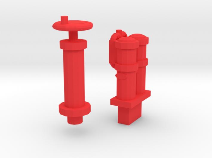 009 Sentinel - Parts 2 & 3 (Cab Details) 3d printed