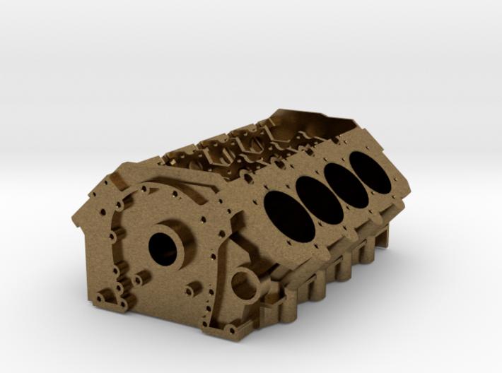 V8 Engine Block 3d printed