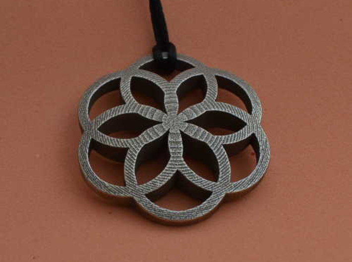 Pendant Hexagon 3d printed Add a caption...