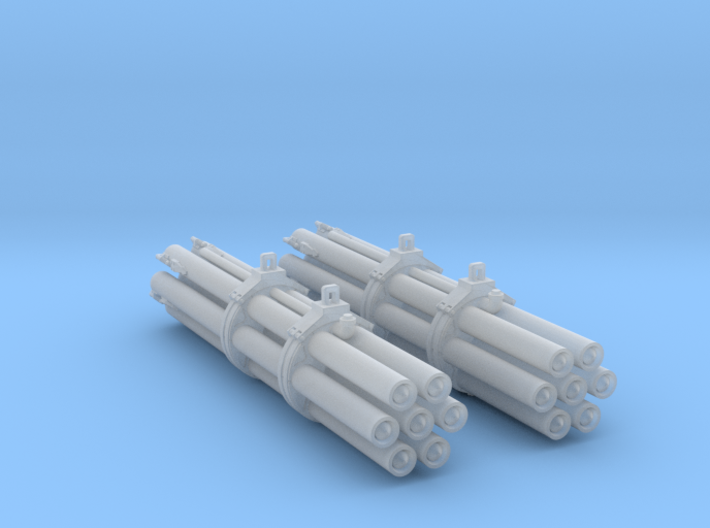 M158 Pair Rocket Pods 1/48 Scale (Loaded) 3d printed