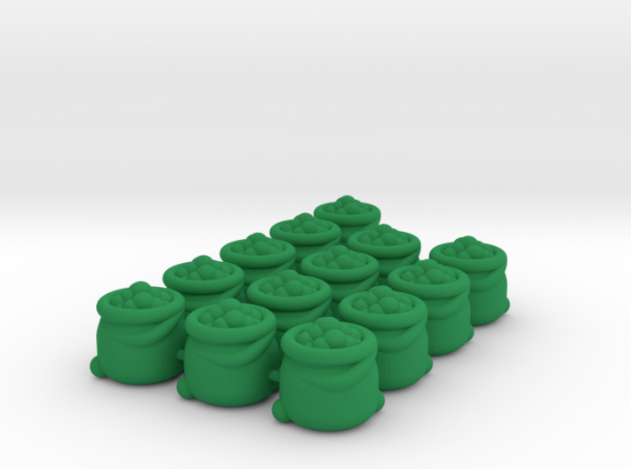 Bag Tokens (13 pcs) 3d printed
