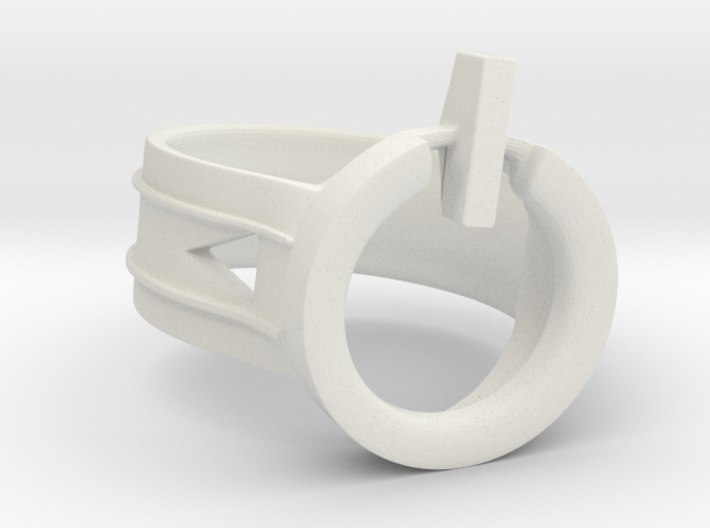 Power Ring Size 6 3d printed