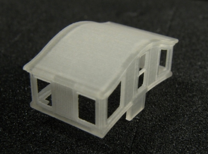A27 N 'Bombay' roof caboose cupola for MT x4 3d printed
