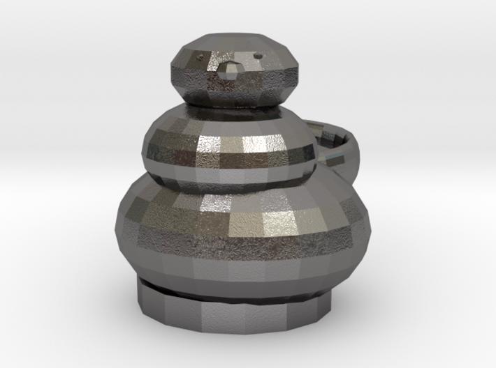 Open Sim Snowman Ring 3d printed