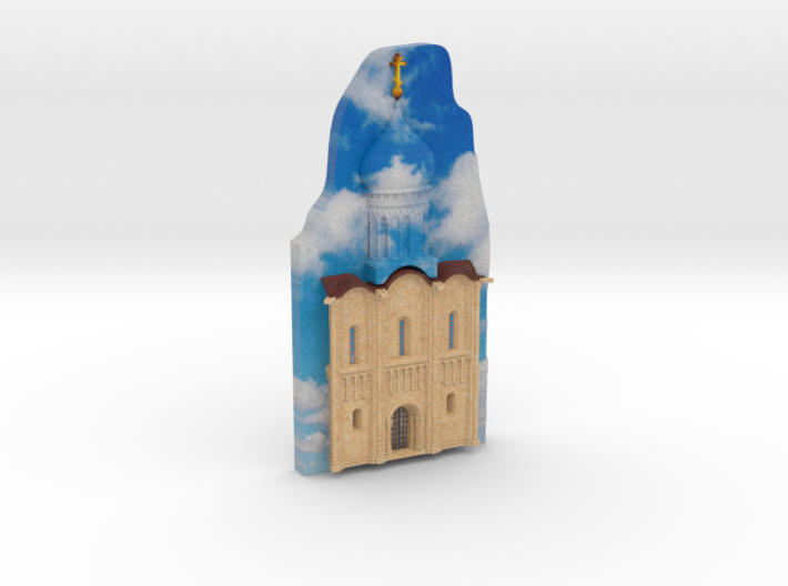 Church of the Intercession on the Nerl 3d printed