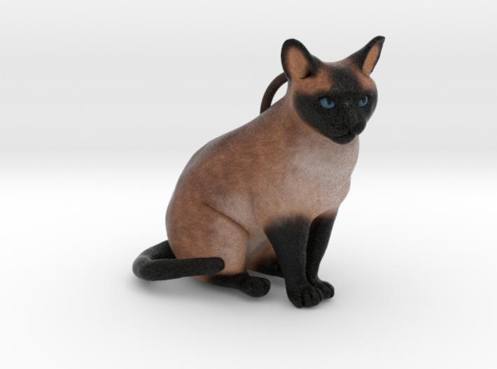 Custom Cat Ornament - Pikachu 3d printed
