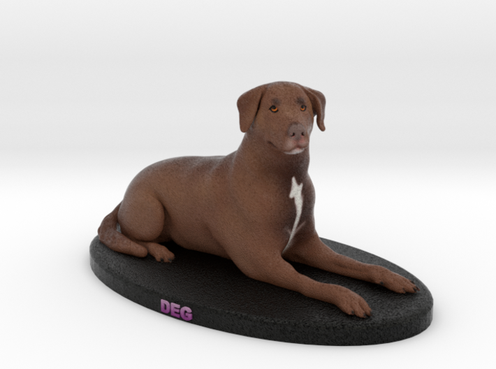Custom Dog Figurine - Deg 3d printed