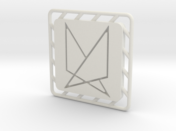 Ephela Pendant 3d printed