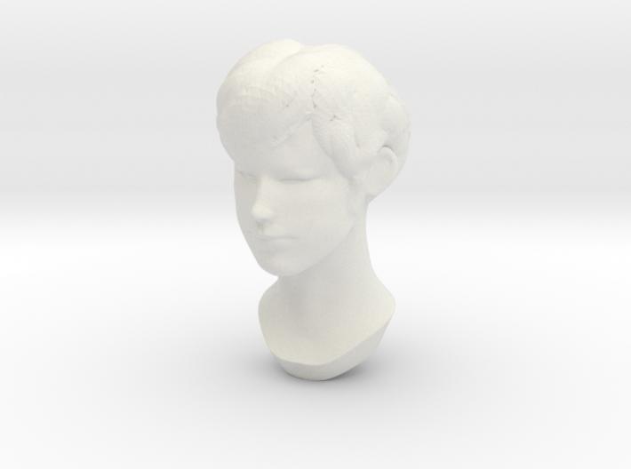 Female Head 2 3d printed