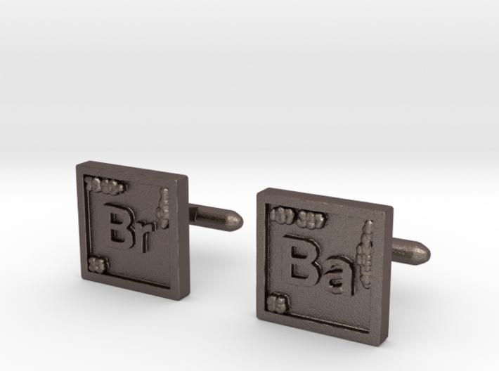Breaking Bad: Cufflinks 3d printed