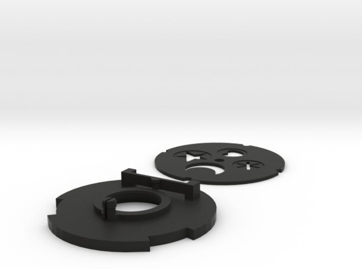 Diy M43 Lens V20 For Shapeways -- Shape Aperture 3d printed