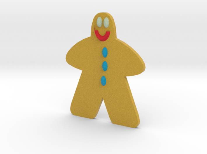Ginger Bread Man 3d printed