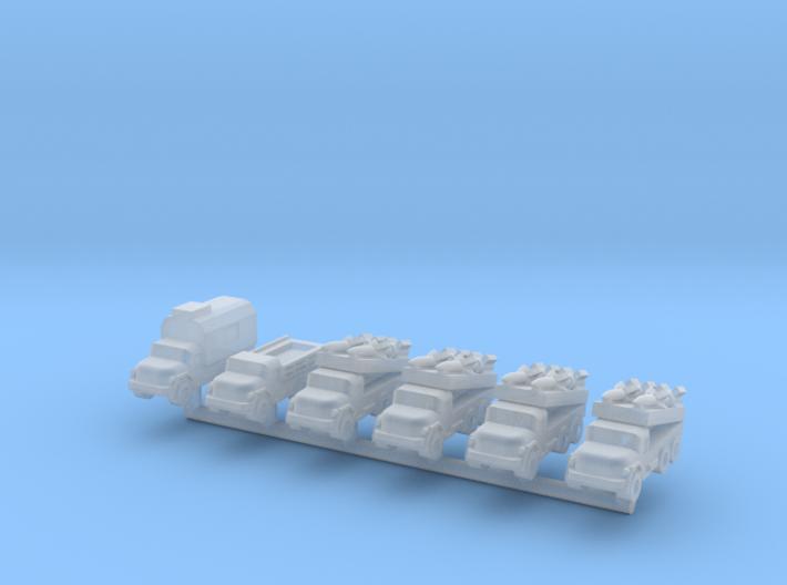 1/285 SA-3 Goa (x6) 3d printed