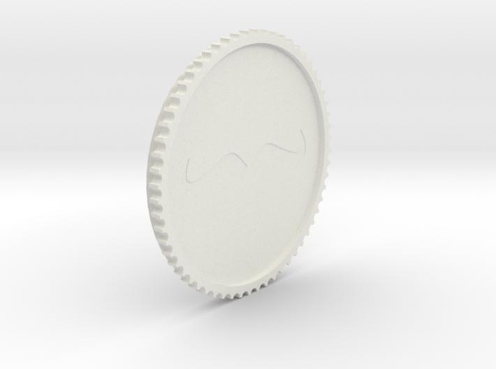 Schnurrbart Mustache Lens Cap 58mm/67mm 3d printed