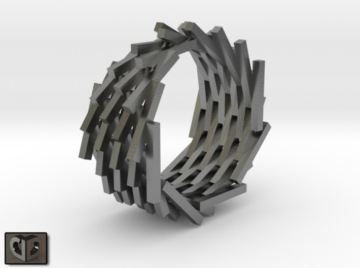 Ring - Clone Closed 3d printed Digital Preview