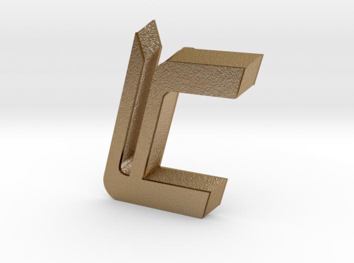 LC Logo 3d printed