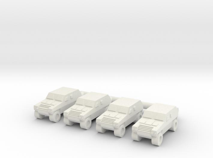 1/285 Komatsu LAV (x4) 3d printed