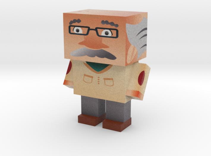 Cube Oldee 3d printed