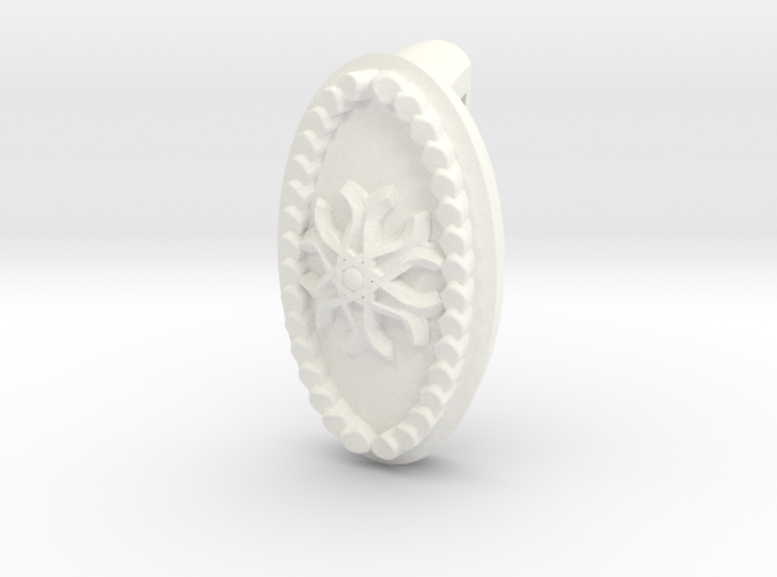 Winter Necklace Charm 3d printed