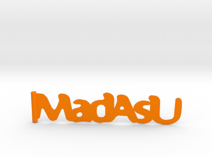 MadAsU bookmark 3d printed