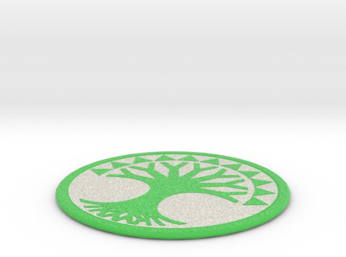 Selesnya Coaster 3d printed