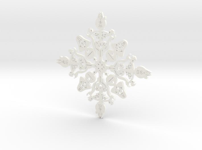 Star Wars Snowflake #1 3d printed