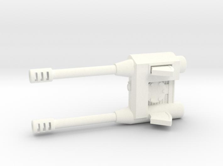 Autocannon Left 3d printed