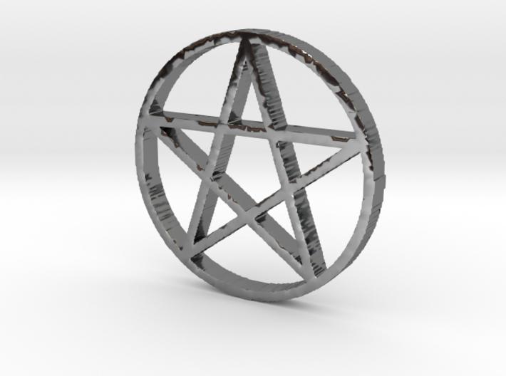 Pentagram (Pentacle) 3d printed