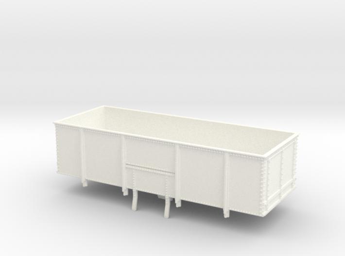 GWR N23 21T Mineral Wagon Body (00) 3d printed