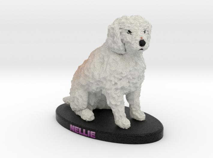 Custom Dog Figurine - Nellie 3d printed