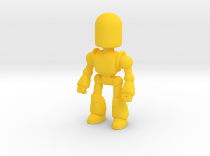 Toy Robot 3d printed