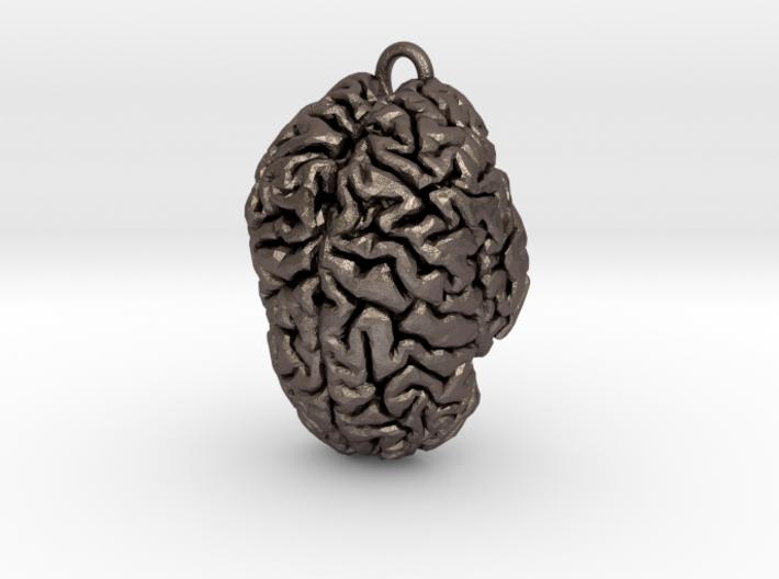 Custom (Your Brain!) Pendant 3d printed
