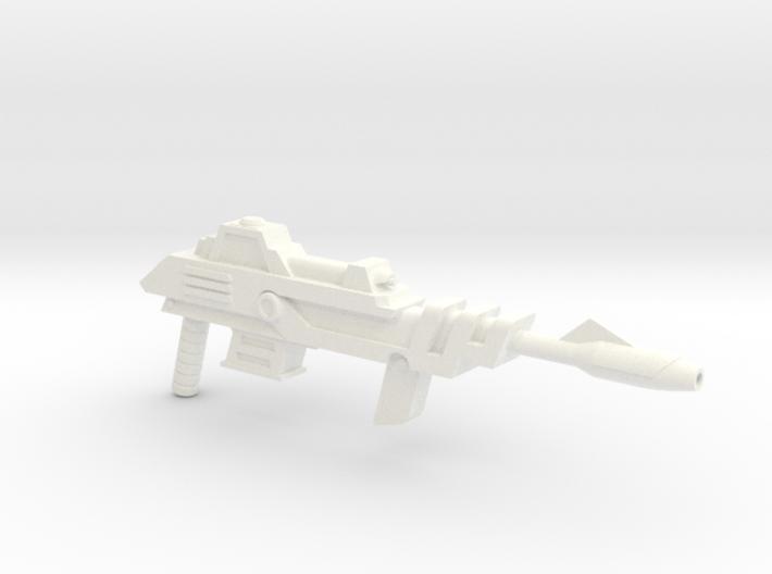 Savage Laser Rifle 3d printed