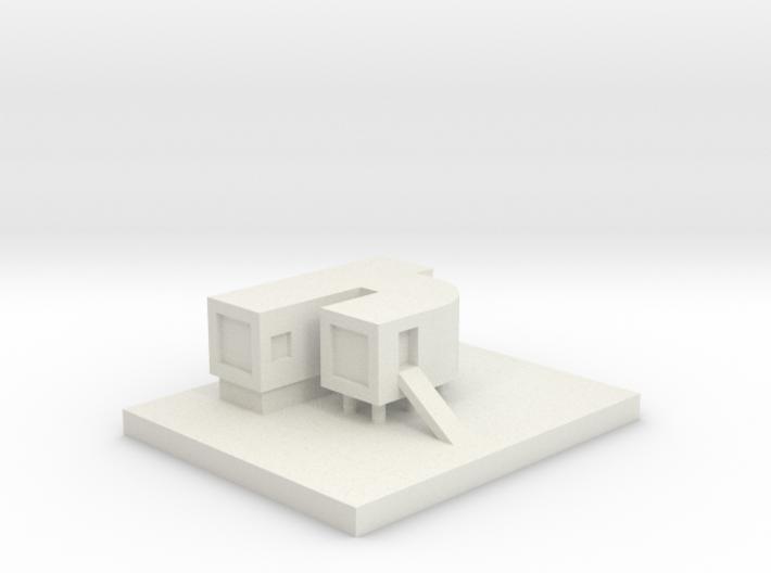 House 8 3d printed