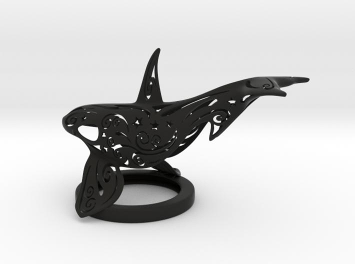 Stelliform Orca Upper 3d printed