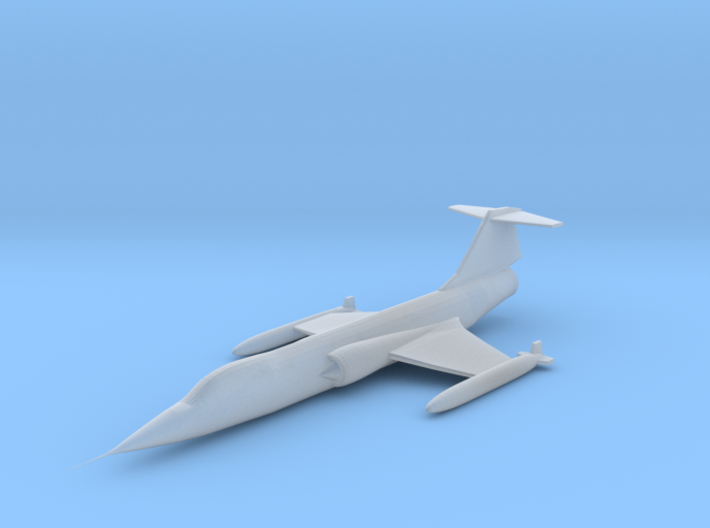 1/350 F-104 Starfighter 3d printed