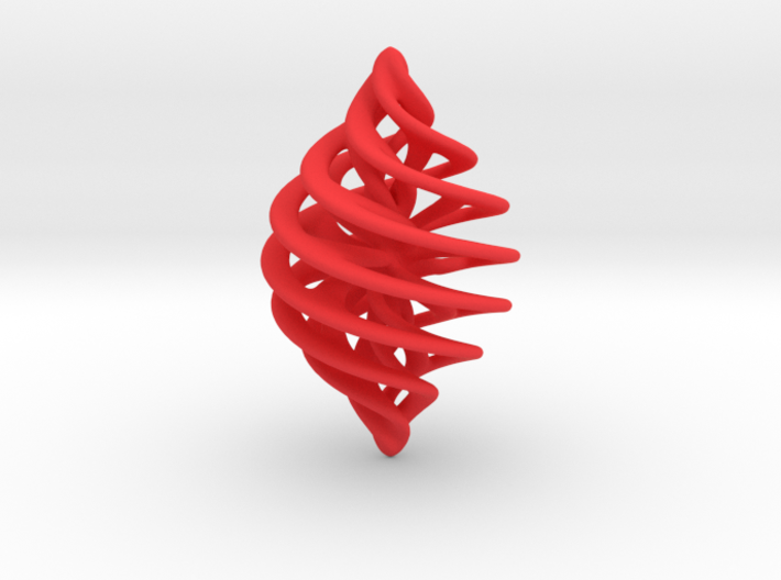 Entanglement Bauble 3d printed