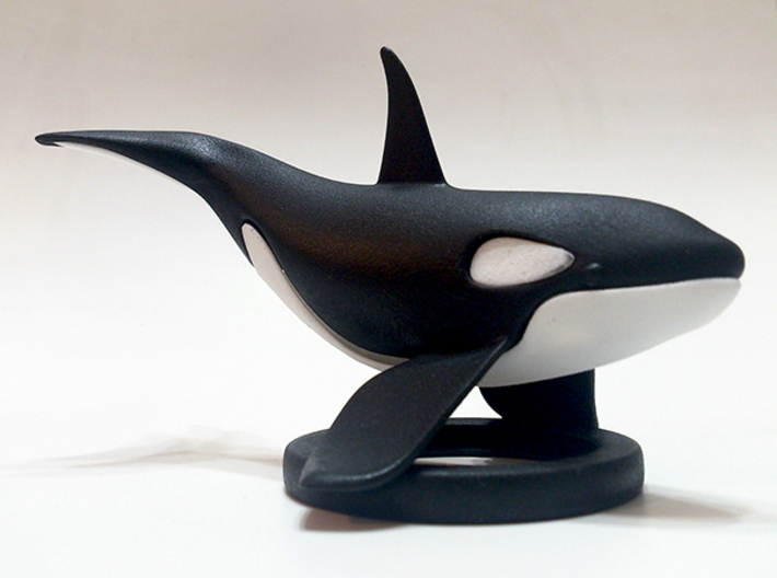 Orca Bottom Half 3d printed