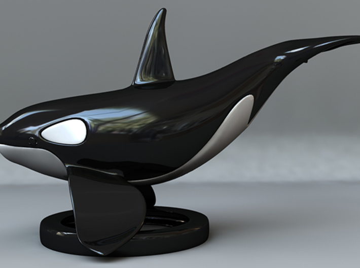 Orca Upper - Solid Version 3d printed